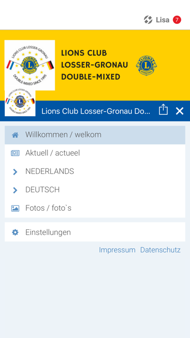 Lionsclub Twente-Münsterland screenshot 2