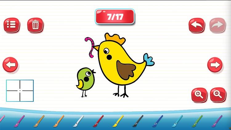 儿童画画游戏-幼儿早教软件 screenshot-3