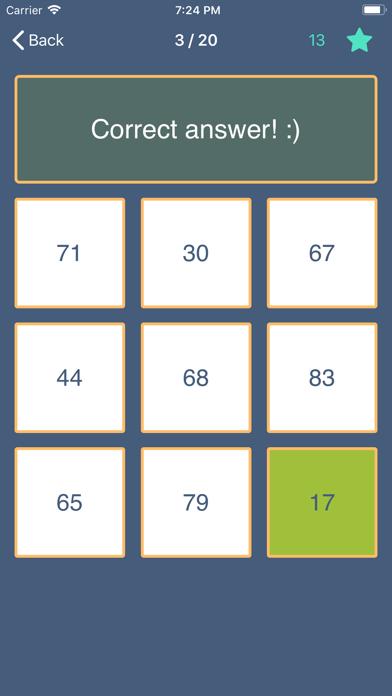 Clash of Math. Tasks and tests screenshot 4