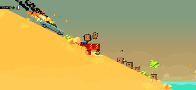‎Shootout on Cash Island Screenshot