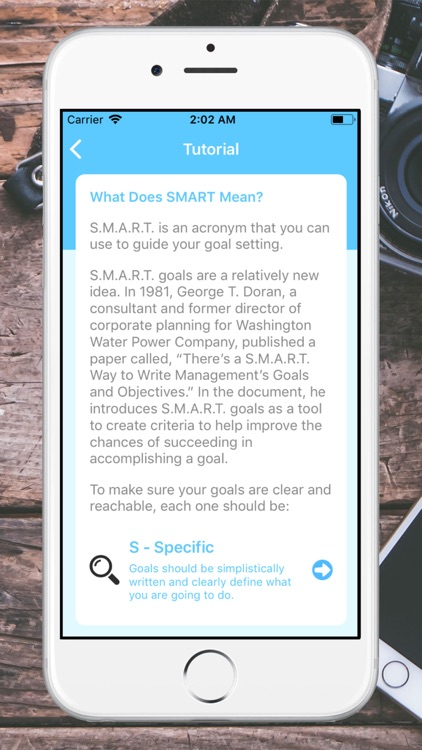 SMART Goals screenshot-2