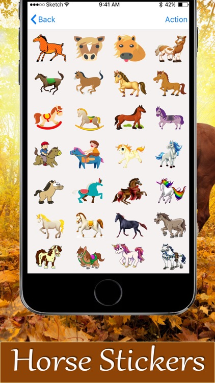 Horse Stickers 2018