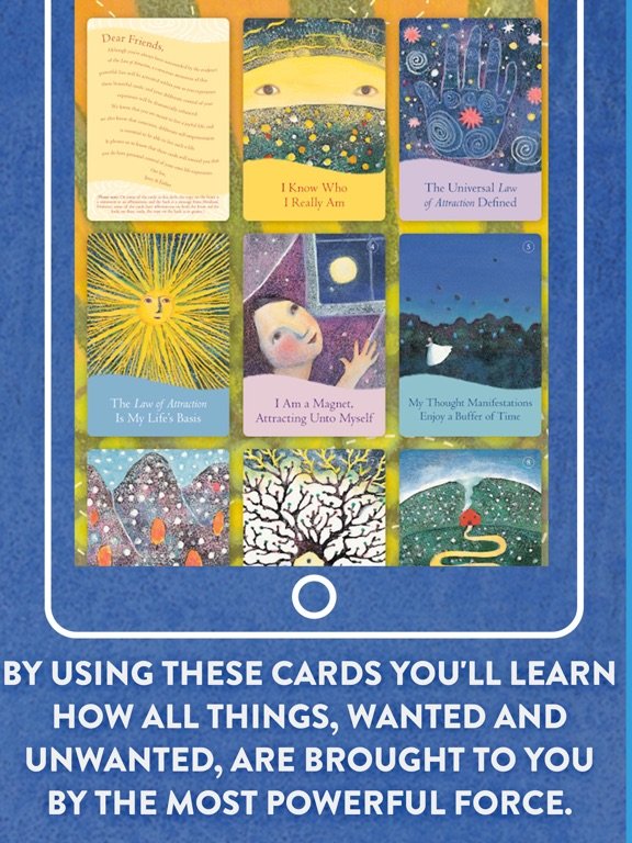 The Law of Attraction Cards screenshot 10