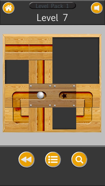 Ball rolls in labyrinth - Unblock & slide puzzle screenshot-3