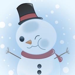 Let It Snowman Stickers