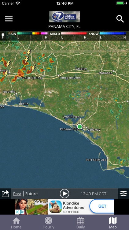 WJHG Weather screenshot-2