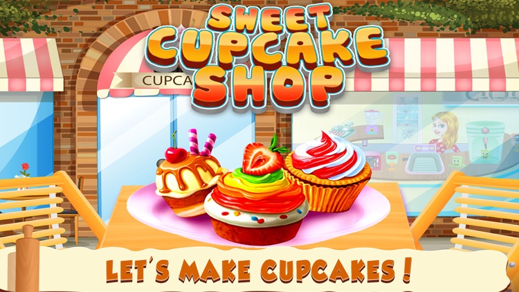 Cupcake Shop Kids cooking Game