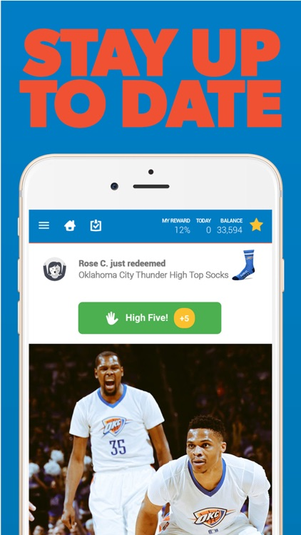 Oklahoma Basketball Louder Rewards screenshot-3
