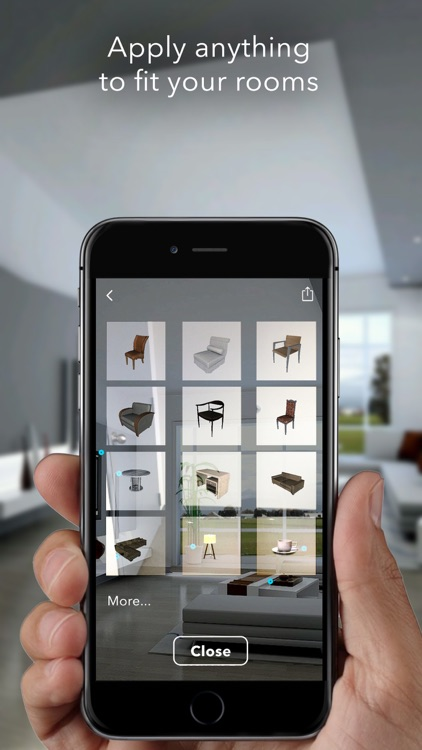Augmented Reality Furnishing