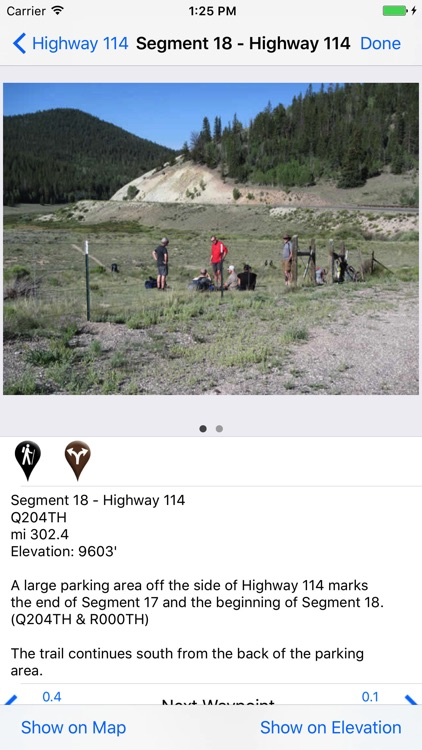 The Colorado Trail Hiker
