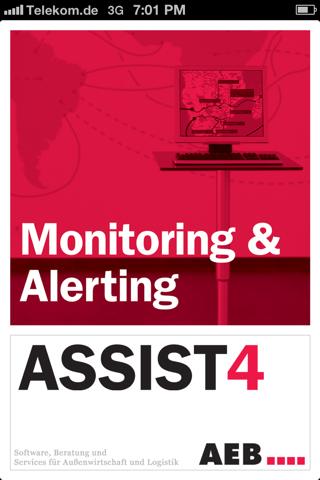 ASSIST4 Monitoring & Alerting screenshot 1