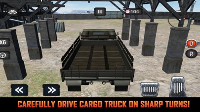 Mission Army Truck Driving screenshot 1