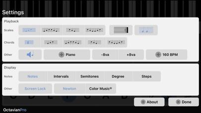 Octavian Screenshot on iOS