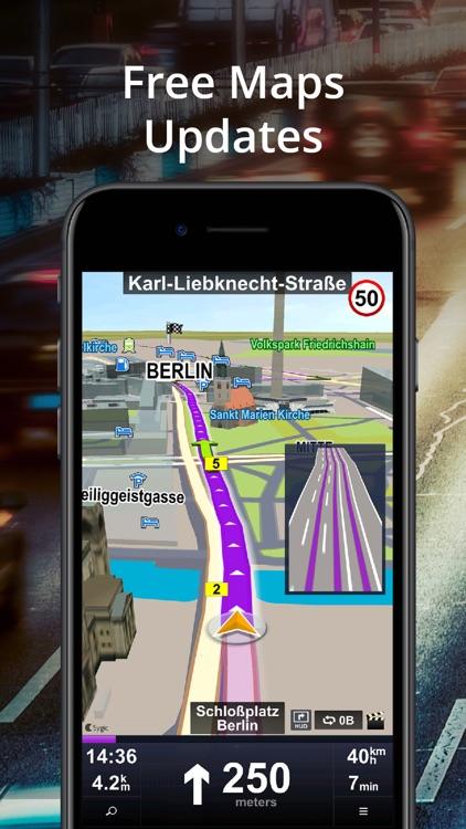 Car Navigation: Maps & Traffic screenshot-4