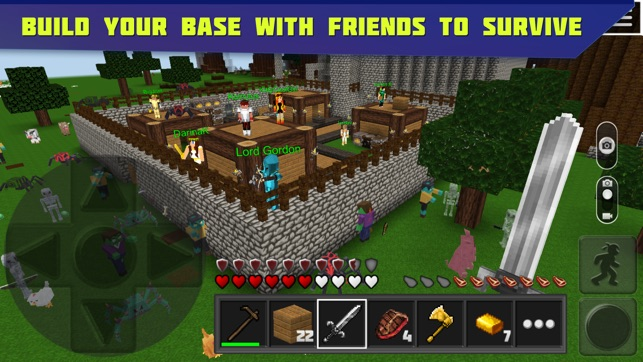 Planet Of Cubes Survival Craft On The App Store - Minecraft survival spiele