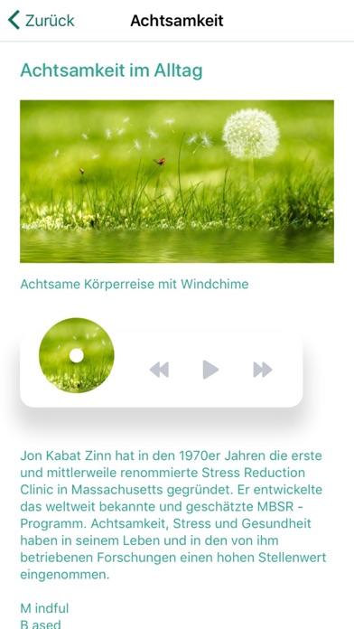 Entspannung und AchtsamkeitScreenshot von 4