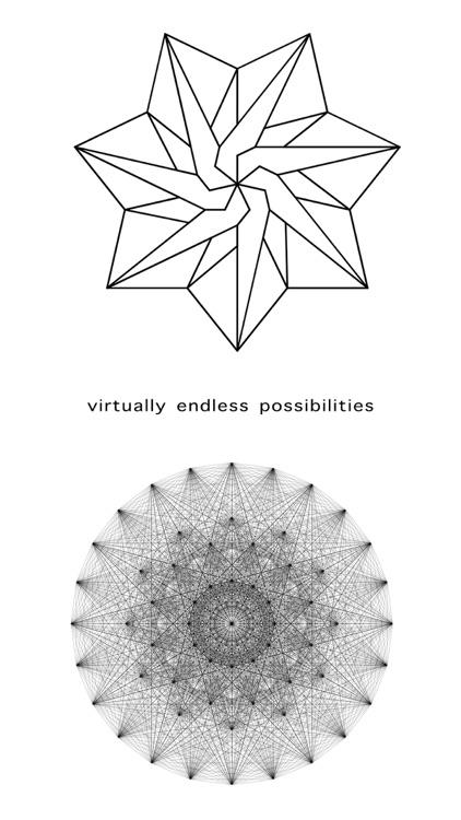 Entangle - Geometric drawing