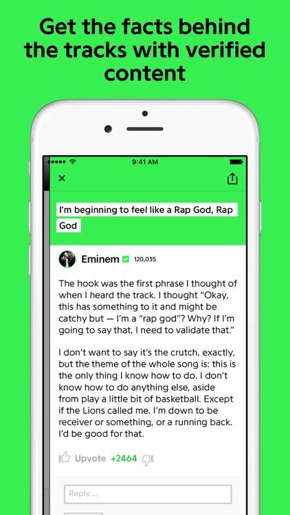Genius: Song Lyrics & More screenshot-3