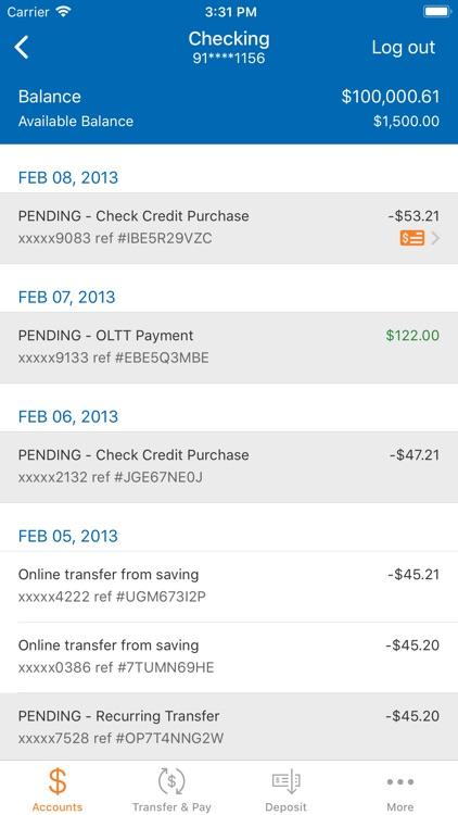 Metro Credit Union Mobile screenshot-3