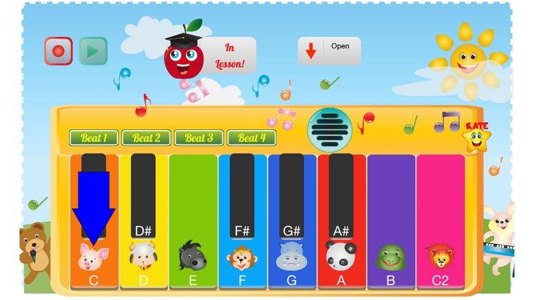 Kids Toy Piano And Teacher screenshot-3