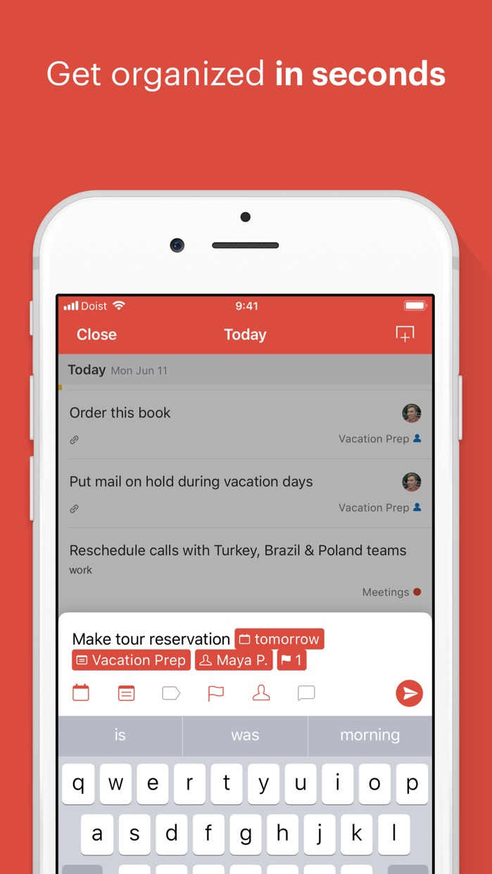Todoist: Organize your life Screenshot