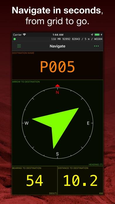 Screenshot for MilGPS in United States App Store