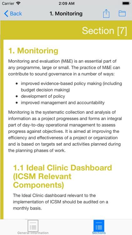 ICSM Manual