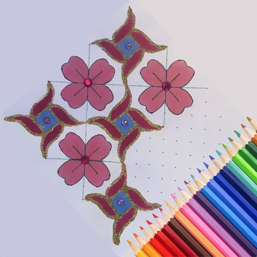 Connect Dots -Rangoli for iPad