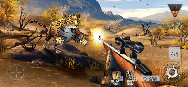 Deer Hunter Reloaded, a simple and really easy to use hunting similator now for your Mac