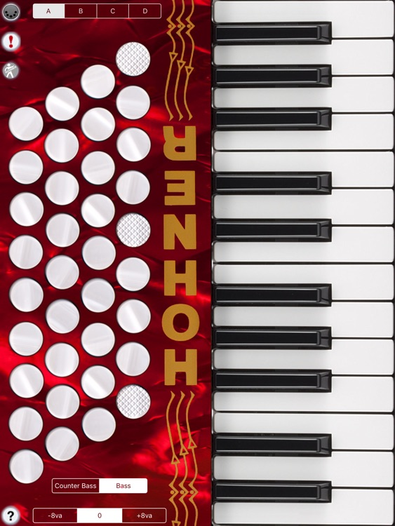 Hohner MIDI Piano Accordion