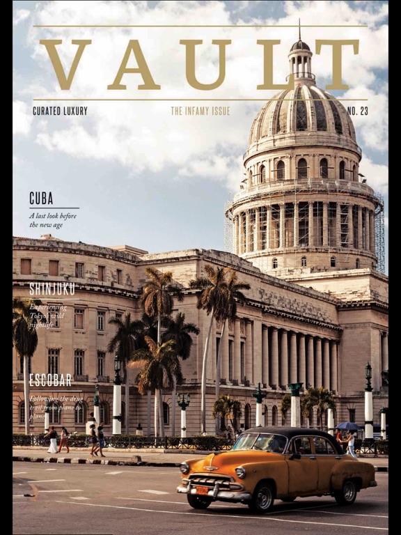 Vault (Magazine) screenshot 7