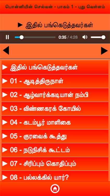 Ponniyin Selvan 1 Audio Ofline screenshot-2