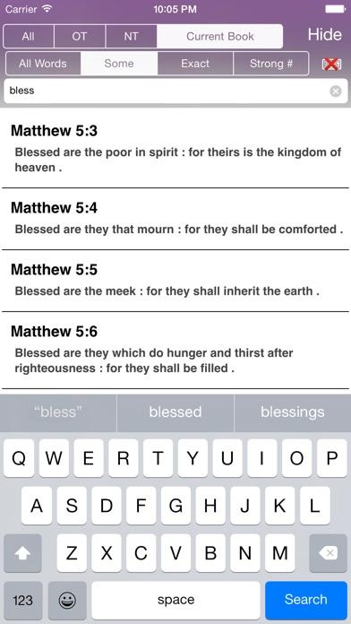 Touch Bible review screenshots