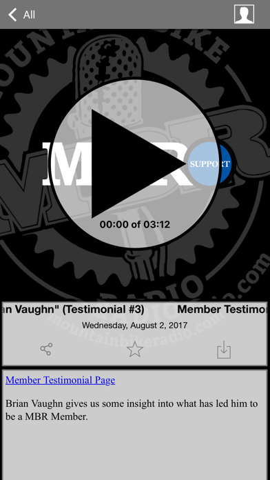 Mountain Bike Radio screenshot three