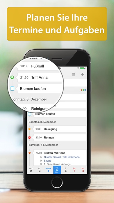 calendars 5 kostenlos intelligente iphone kalender app. Black Bedroom Furniture Sets. Home Design Ideas