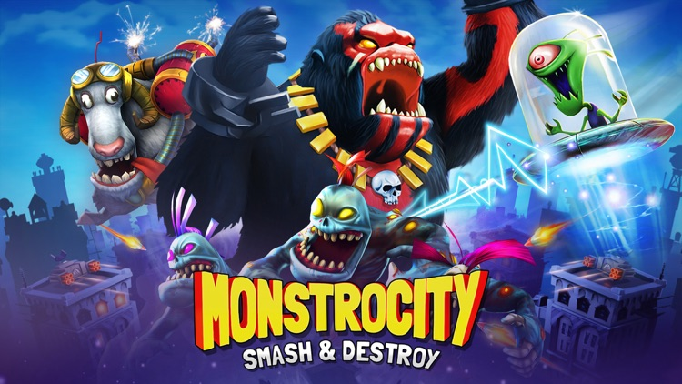 MonstroCity: Rampage screenshot-0