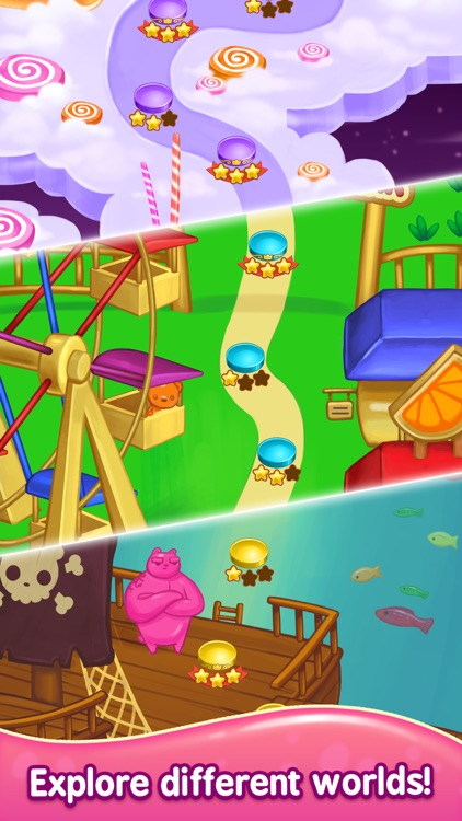 Gummy Gush: Match 3 Puzzle screenshot-3
