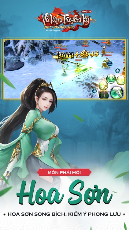 Võ Lâm Truyền Kỳ Mobile - VNG screenshot-0