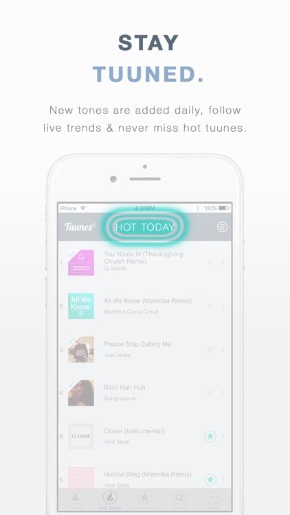 TUUNES™ Ringtones for iPhone screenshot-5