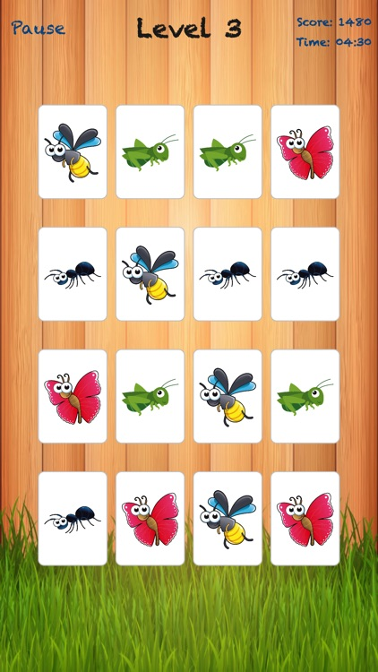 Bugland - Card Matching Game screenshot-1