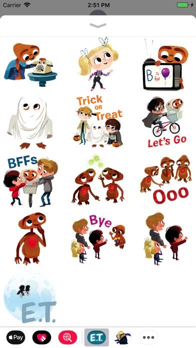 E.T. Stickers x Kim Smith screenshot 3