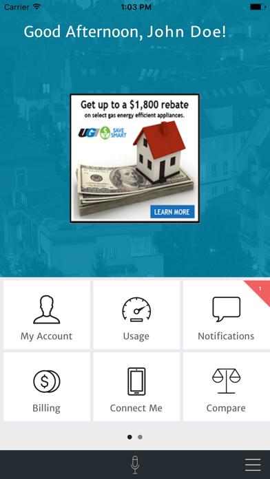 UGI Online Account CenterScreenshot of 2