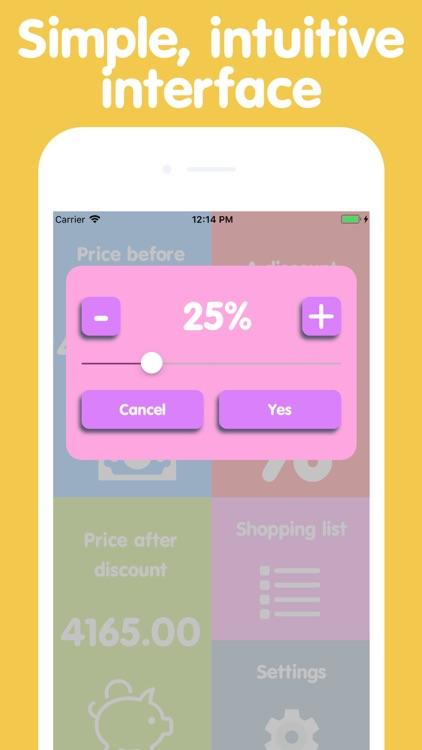 Easy shopping - discount list screenshot-3