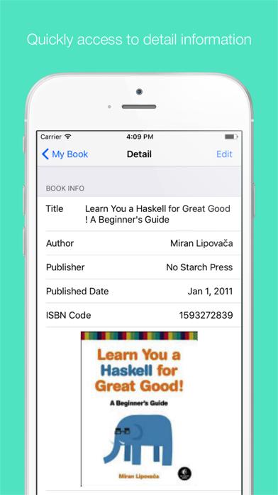 Booker - Book Manager screenshot three