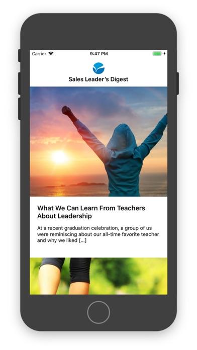 Sales Leader's Digest Screenshots