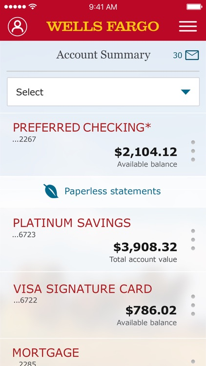 Wells Fargo Mobile screenshot-0
