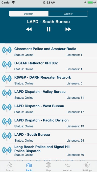Lancaster Incidents and Radio iPhone