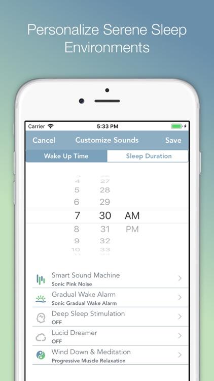 Sonic Sleep Coach Alarm Clock