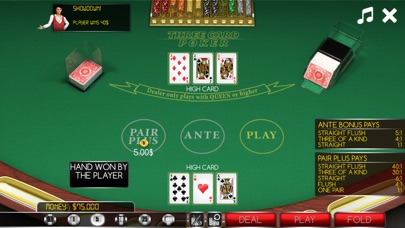 3-Card Poker screenshot 3