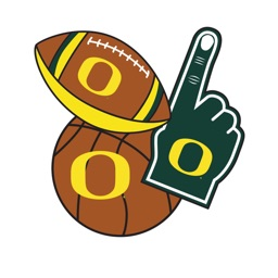 Oregon Ducks  Selfie Stickers